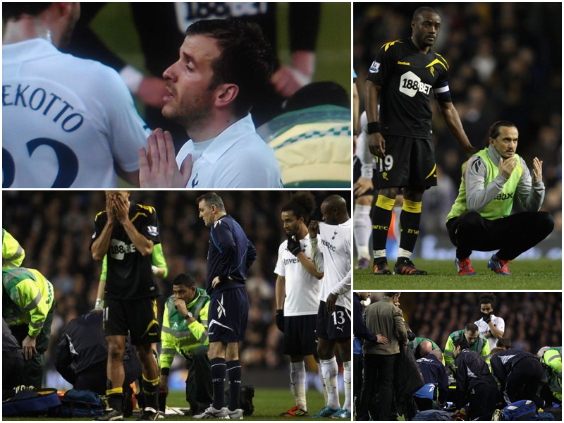 Shell Shocked - Reaction to Muamba's Collapse