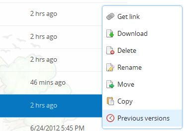 DropBox - Backups, File Revisions, Sharing