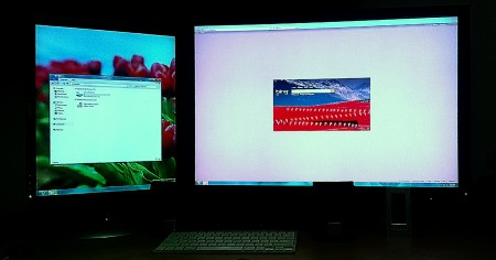 Traditional Dual Monitor Views are Possible