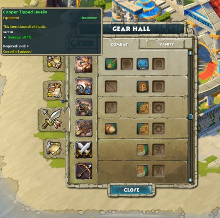 Gearing in a RTS: Significant stats boosts