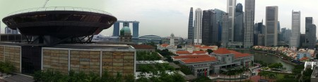 A really good view - Supreme Court, Parliament, City Skyline