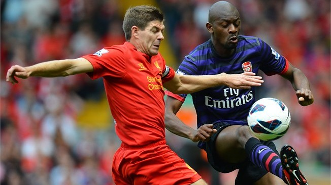 Diaby - Man of the Match.