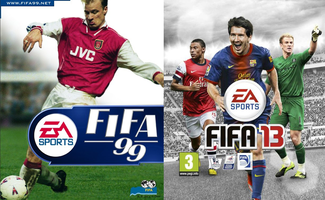 FIFA 99 to FIFA13: Much has changed.