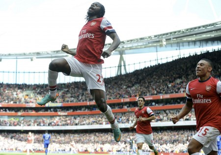 Gervinho: Did his job. One of the few bright moments in the game.