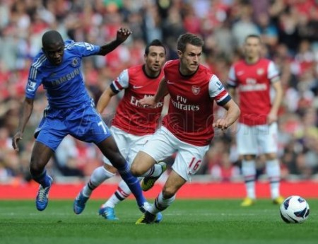 Ramsey: Will have to deputize for Diaby and improve.