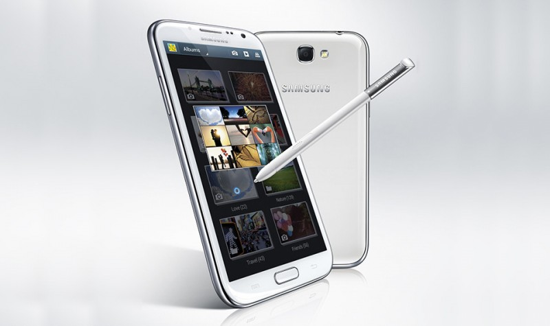Samsung's Galaxy Note II is the only smartphone with true dual window multi tasking.