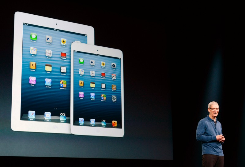 The iPad Mini will gobble up its bigger brother.