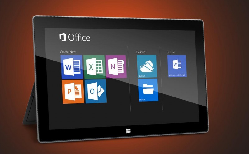 Windows RT will come with 4 native Office 2013 apps free