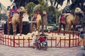 Christmas: A Once A Year Visit To Town (Outside Plaza Singapura in 1989)