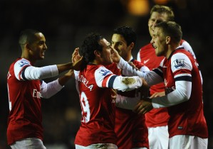 Santi: Our hat trick hero can't believe he scored with his head.