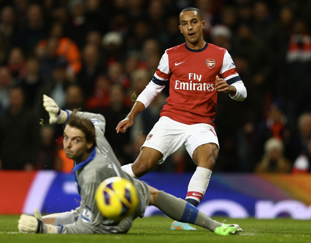 Walcott's finishing is top quality but he can't lead the line alone.