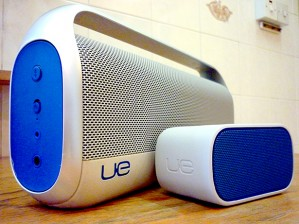 The Logitech UE Boombox & Mobile Boombox