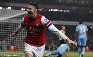 A Giroud double caps a good all round performance.