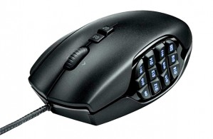 The G600: 20 buttons and 40 functions in your palm.