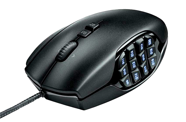 thoughts » Review: Logitech G600 MMO Gaming Mouse