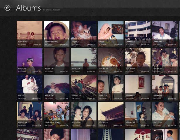 Picasa Albums on Windows RT / 8