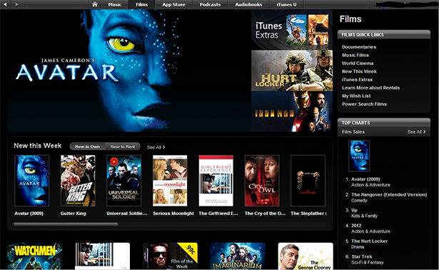 iTunes has a massive potential even beyond the mainstream.