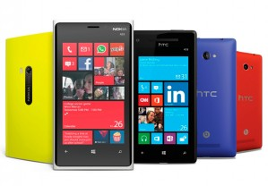 Windows Phone: Nokia's all in, HTC's half. The rest are quiet.