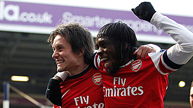 Gervinho: Three good performances in a row.