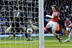 Rosicky nets his second.