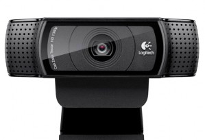 The C920 is Logitech's top of the line webcamera.