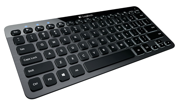 The K810 is the most feature packed bluetooth keyboard available.