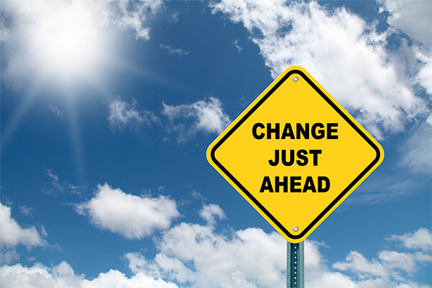 Actually, change is here.
