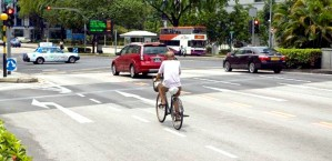 Singapore wants more cyclists but the conditions are not right at the moment.