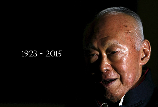 First Prime Minister of Singapore, Lee Kuan Yew, 1923-2015